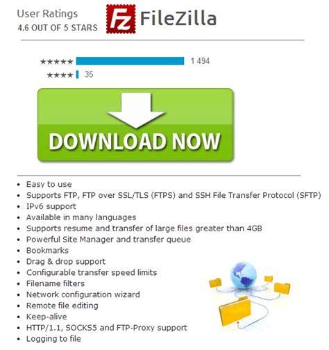 resume downloads filezilla