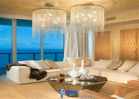 stunning chandelier in living room ideas home design