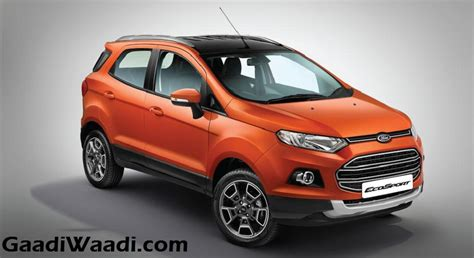Ford Ecosport 2017 Review by 2017 Ford Ecosport Platinum Edition Price Engine