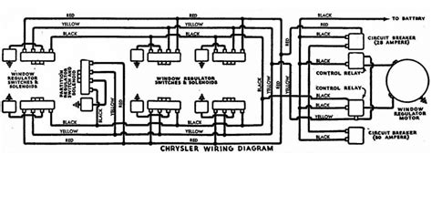 hydro electric window regulator wiring diagram chrysler