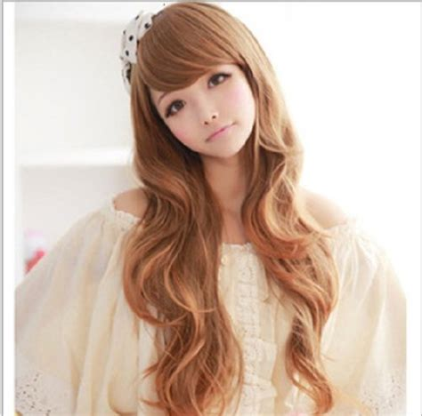 Japanese With Brown Hair by Beautiful Curly Hair Japanese Fashion Hair Wigs