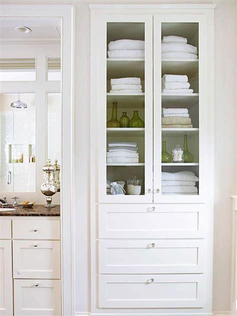 bathroom closet door ideas creative bathroom storage ideas linen closets cabinets