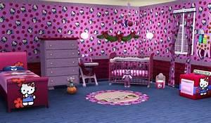 Chambre Hello Kitty : sims3 baraquesasims les chambres enfants ~ Voncanada.com Idées de Décoration