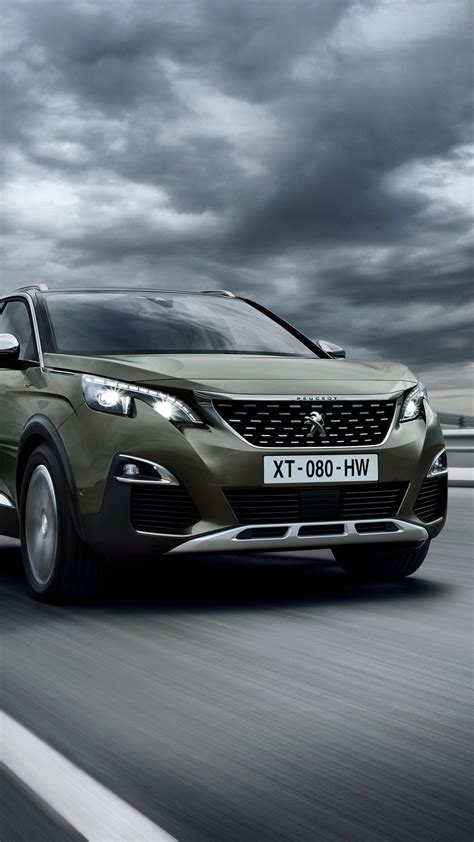 Peugeot 3008 Backgrounds by Wallpaper Peugeot 3008 Gt Line Suv Crossover Cars