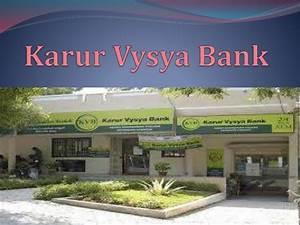 Karur Vysya Bank Karur Vysya Bank