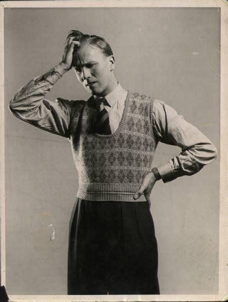 1930 Men Fashion Sweaters