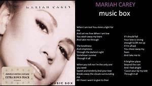 mariah carey music box + lyrics - YouTube