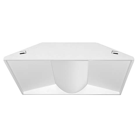 2x2 led light fixture juno indy s2x2bl 3930u wh3 dlc listed white with opal
