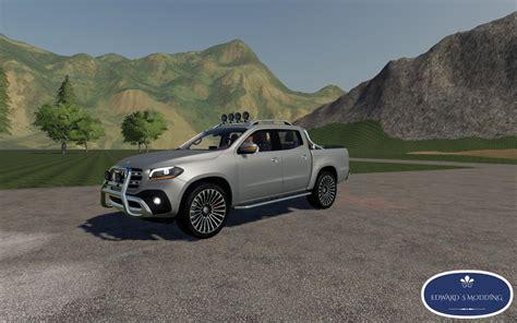 fs mercedes  class fs  farming simulator  mod