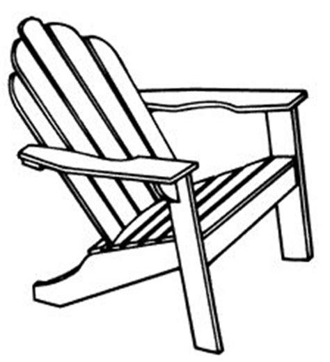 adirondack chair clipart clipart suggest