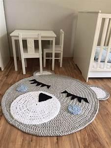 Teppich Im Babyzimmer : kinderzimmerteppich grau blau b r junge 100 cm durchmesser babyzimmer und 90er ~ Markanthonyermac.com Haus und Dekorationen