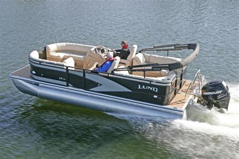 Lund Pontoon Boats by 2017 Lund Lx220 Pontoon Cbell River Columbia