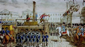 Image result for images french revolution guillotine