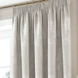 Blackout Net Curtains by Sandhurst Grey Ready Made Pencil Pleat Pencil Pleat