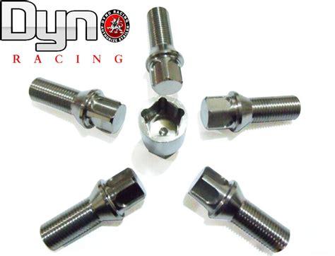Dyno Burglarproof Titanium Lug Nut Stud M14x15125 L