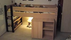 Lit à étage : lit tage enfant avec matelas sur ~ Teatrodelosmanantiales.com Idées de Décoration