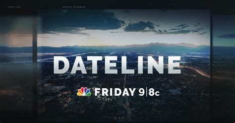 dateline friday preview   spider lake