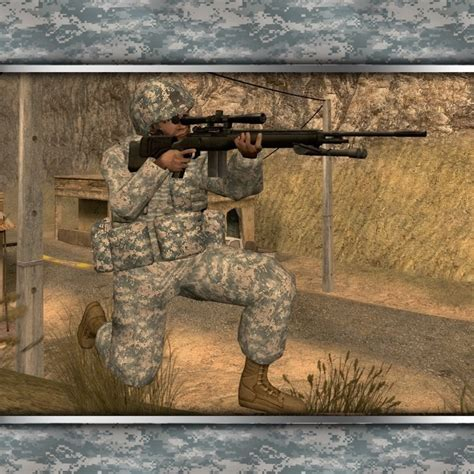 insurgency acu camo soldier insurgency modern infantry