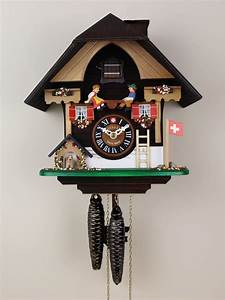 Loetscher, U0026, 39, S, The, Seesaw, And, The, Puppy, Chalet, Cuckoo, Clock