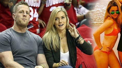 jj watt girlfriend kealia ohai beautiful moments