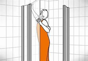 Alte Haustür Ausbauen Und Neue Haustür Einbauen : duschkabine einbauen in 6 schritten obi ratgeber ~ Lizthompson.info Haus und Dekorationen