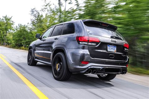 jeep trackhawk back jeep grand cherokee trackhawk 2018 review autocar