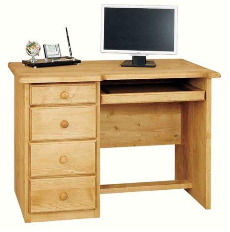 bureau en pin massif acheter meuble bureau informatique pin