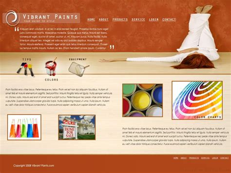 50 Beautiful Free And Premium Psd Website Templates And