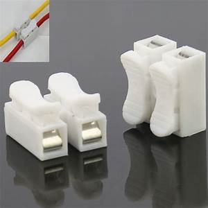 20 Pieces Ch 2 Ch 3 Spring Wire Connectors Electrical