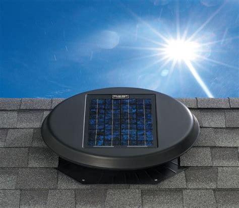 solar breeze attic fan green breeze solar fan harnesses heat to cool your home
