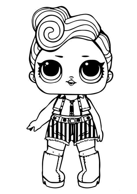 printable lol doll coloring sheets funky   animal coloring pages coloring books cartoon