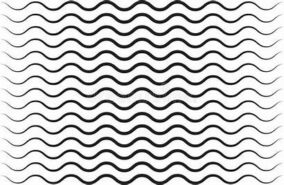Vector Line Wavy Pattern Squiggly Seamless Shape