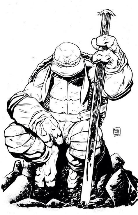 Teenage Mutant Ninja Turtles - Donatello by Drew Moss