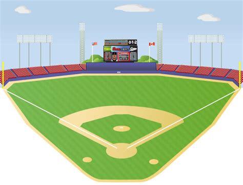 Baseball Field Clipart Ballpark Clipart Clipground