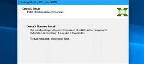 Directx Web Offline Installer Direct Download Links 12