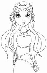 Gypsy Coloring Lady Mirabel Cuddlebug Cuties Sweetheart Template sketch template