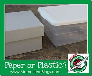 Operation Christmas Child Paper or Plastic