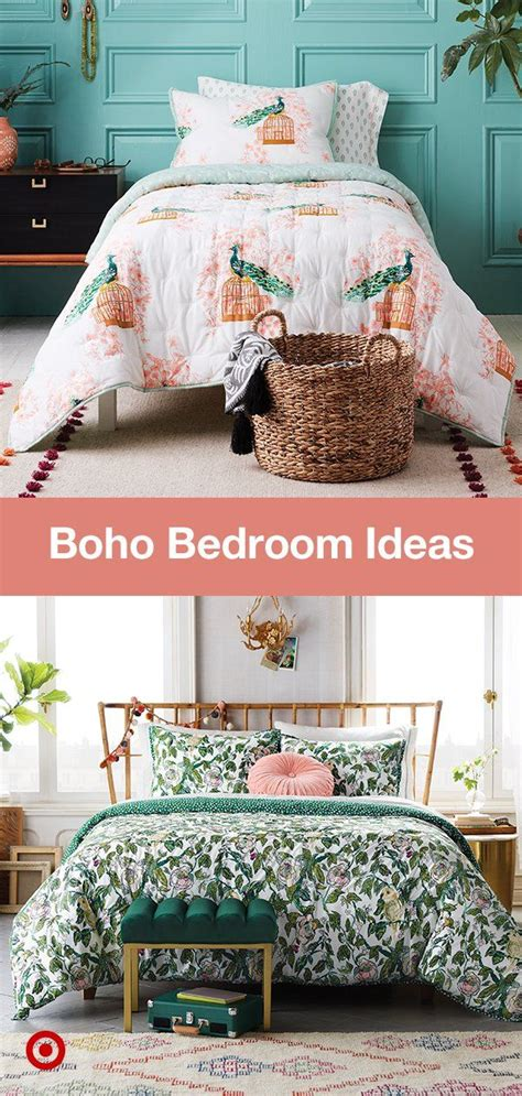 spirited chic bohemian inspired bedrooms