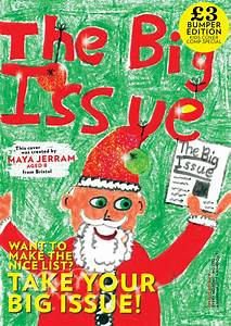 Cover Letter Art It 39 S The Big Issue 39 S Annual Kids 39 Christmas Cover