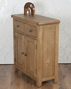 Slim Oak Sideboard chunky solid oak dorset country slim 2 door 1 drawer