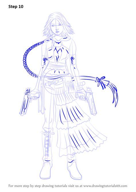learn   draw yuna  final fantasy  final fantasy