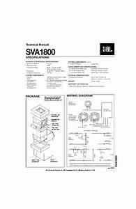 Jbl Sva 1800  Serv Man2  Service Manual  U2014 View Online Or