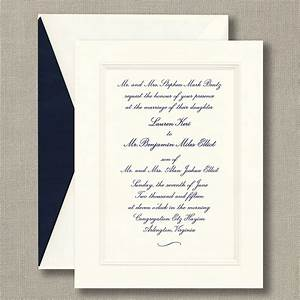 Embossed double bordered warm white wedding invitations for Wedding invitation printing prices