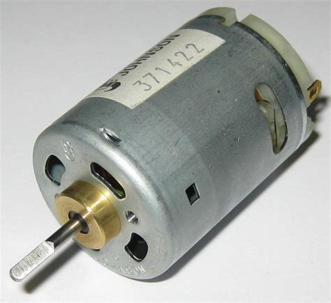 Johnson Electric Motors by Johnson High Speed Dc 5 Pole Hobby Motor 24 V 18000