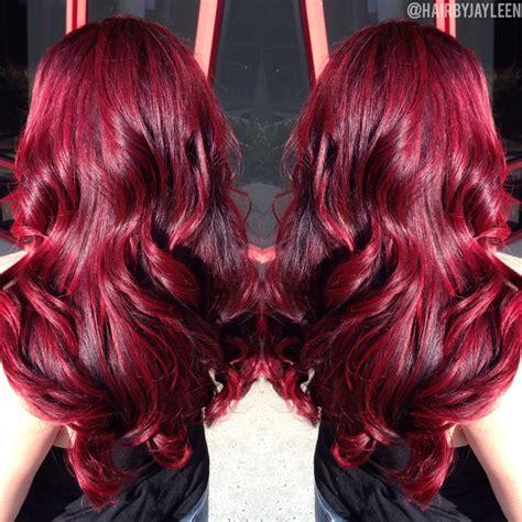 Red Hair Bright Vibrant Hair Dimensional Red Hair Big