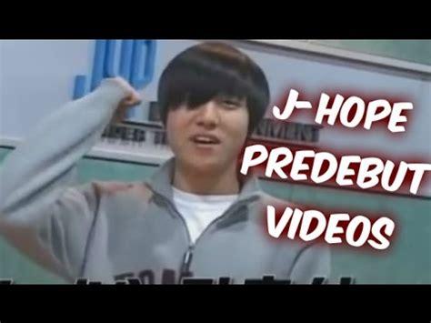 bts  hope predebut  youtube