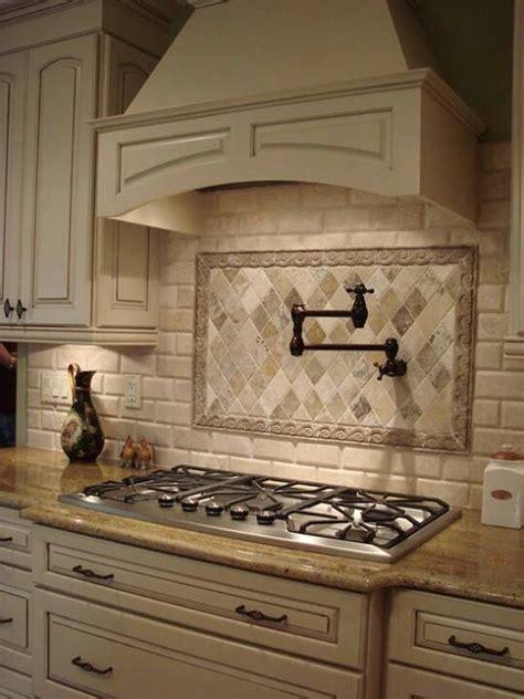 stove faucet backsplash contrast custom cabinets