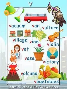 U0026 39 V U0026 39  Words Phonics Poster