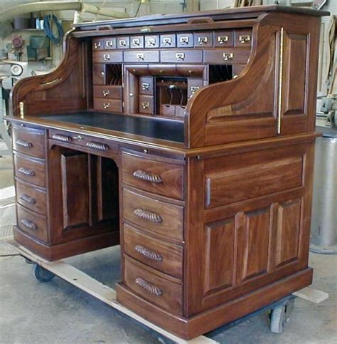 handmade custom built roll top desk  roll top desk works custommadecom