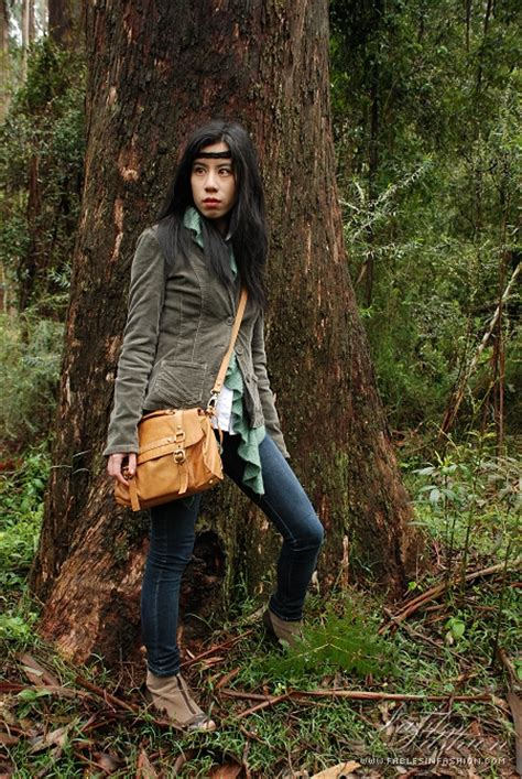 outfit forest hike fables  fashion